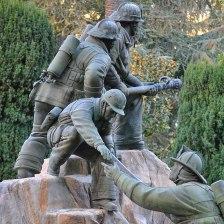 The California Firefighters' Memorial in Capitol Park in Sacramento