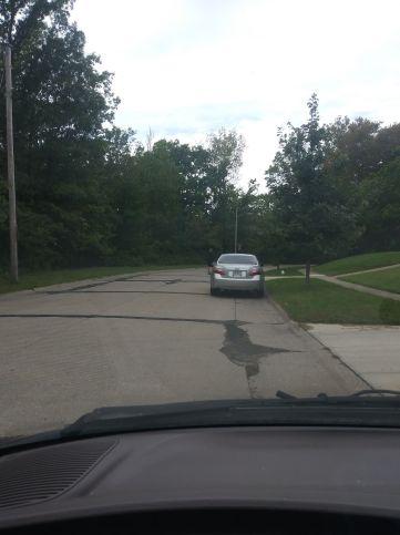 Katie Seiberts vehicle.