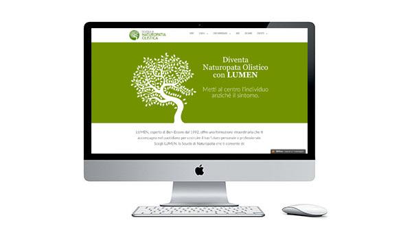 Sito della Scuola di Naturopatia LUMEN è online il restyling