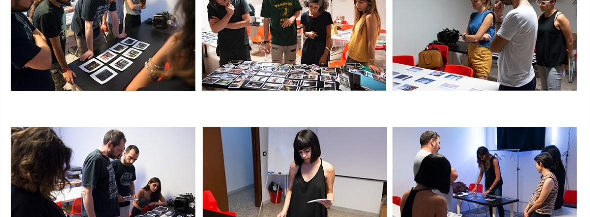 Editing dei lavori finali del Corso di Progettualità e Linguaggio fotografico