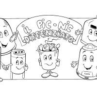 il pic-nic differenziato - storia a fumetti sulla Raccolta Differenziata