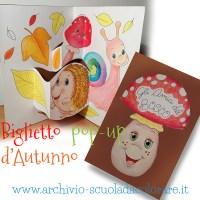 Lavoretto creativo per l'autunno