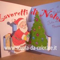 Biglietto pop-up di Natale per bambini