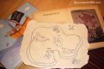 Mappa del tesoro per bambini