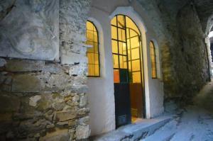 Il villaggio degli artisti a Bussana Vecchia (Liguria)