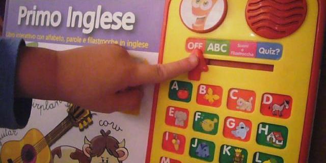 """""""Primo inglese"""" un libro elettronico per bambini"""