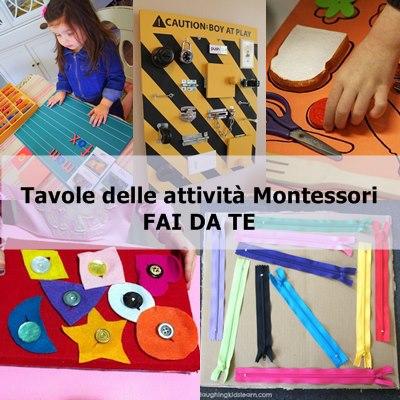 attività Montessori DIY