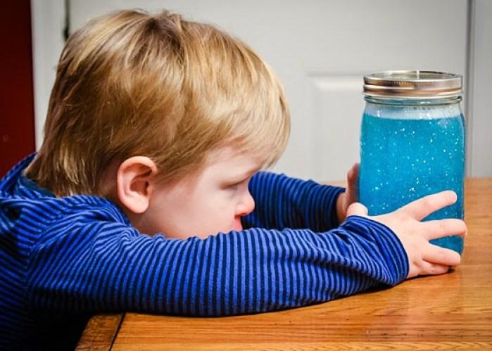 barattolo della calma Montessori