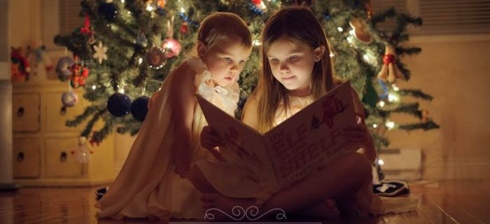Idee per fotografare i bambini a Natale
