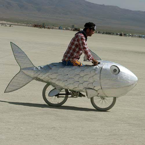 costume di carnevale da bicicletta