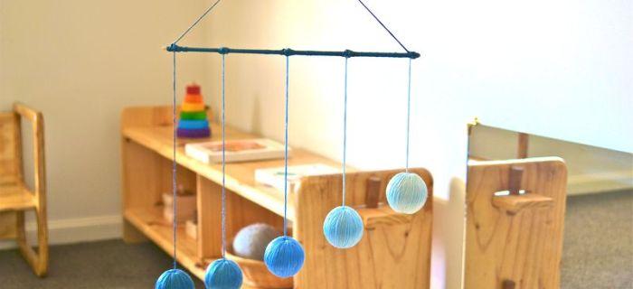 Giochi Montessori per neonati fai-da-te