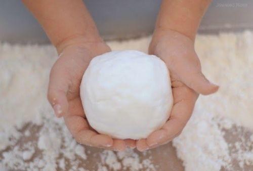 come fare la neve finta