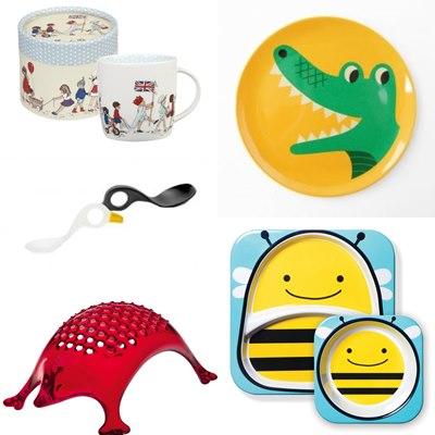 accessori per la tavola dei bambini