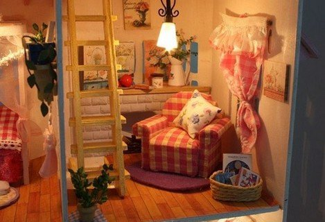 Le più belle case delle bambole in legno