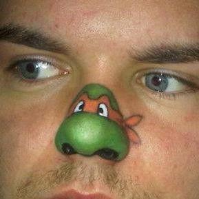 trucco naso carnevale