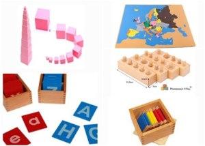 Dove acquistare materiale Montessori a prezzi economici?