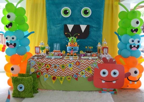 addobbare festa di compleanno con i palloncini idee