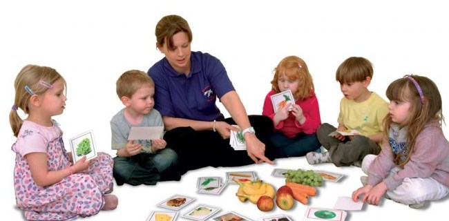 Giochi Montessori per insegnare inglese