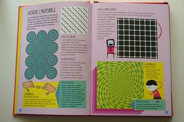 libro illusioni ottiche editoriale scienza