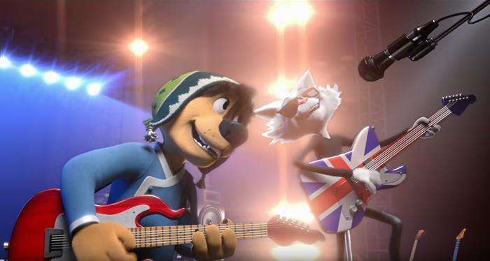 rock dog film recensione, film per ragazzi