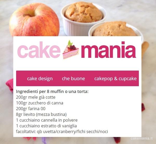 ricetta muffin alle mele senza burro e senza uovo