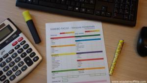 Kakebo fai da te, libro dei conti per risparmiare in PDF