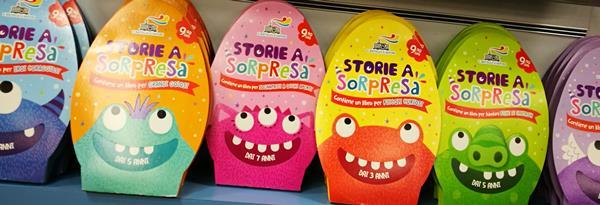 storie a sorpresa piemme libri uovo