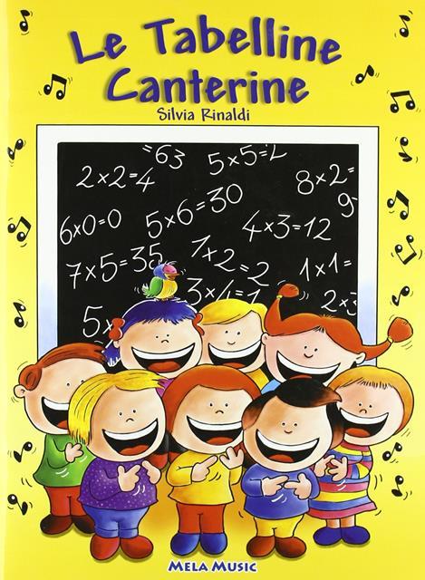 tabeline canterine libro per imparare le tabelline