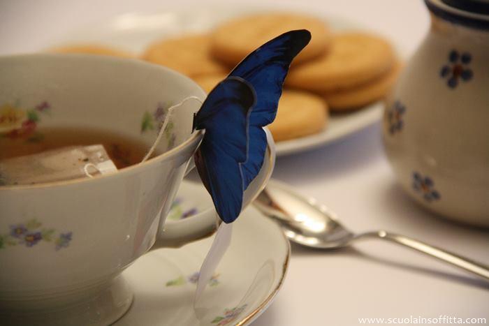 farfalla porta bustina del te