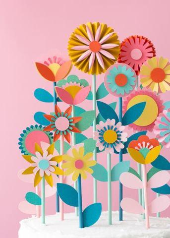 lavoretti mamma fiori di carta