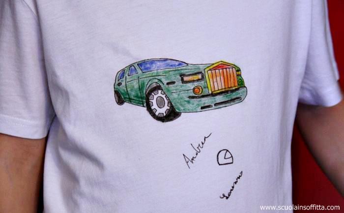 t-shirt fai da te