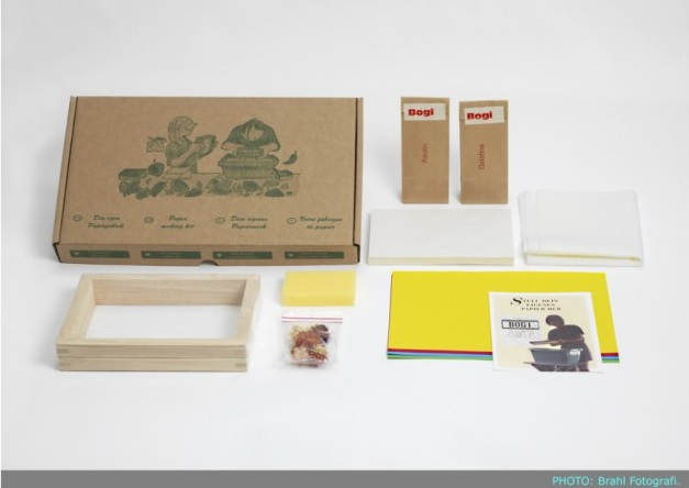 kit riciclo carta