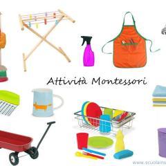 Sai cosa ti serve per le attività Montessori di vita pratica?