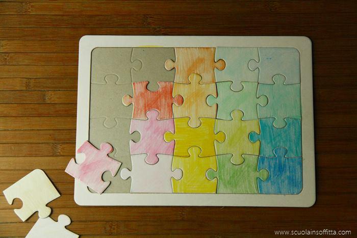 attività colori montessori