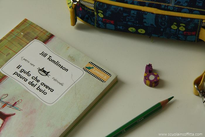 etichette adesive per bambini