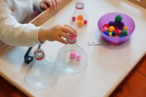 5 Idee da provare per i travasi Montessori