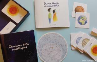 Montessori: Sistema Solare per bambini