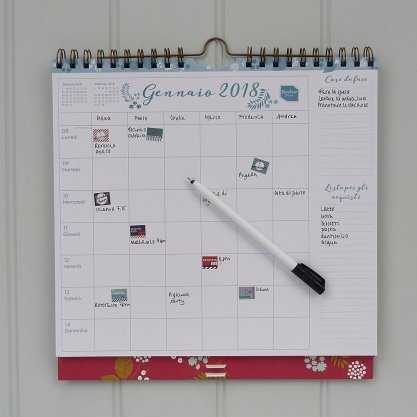 calendario della famiglia