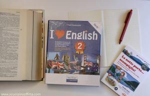 Quaderno delle regole d'inglese: I Love English 2
