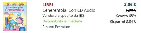 cenerentola con cd