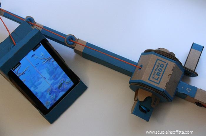 Nintendo Labo: Toy-Con canna da pesca