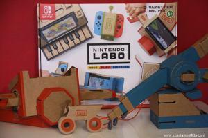 Nintendo Labo: il videogioco da costruire