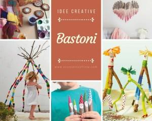 Idee creative con i bastoni