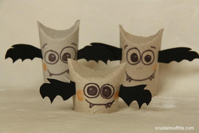 Decorazioni per Halloween DIY: i pipistrelli
