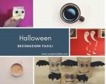 Decorazioni per Halloween facili e di riciclo