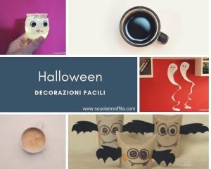 Decorazioni per Halloween facili