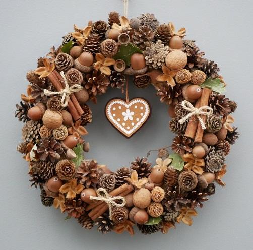 Ghirlanda Di Natale Porta Decorazione Ghirlande Ghirlande Pinecone Decorazione Natalizia 30cm 45cm Di Biback