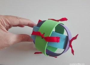 palla sensoriale fai da te