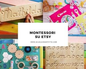 Materiali Montessori su Etsy