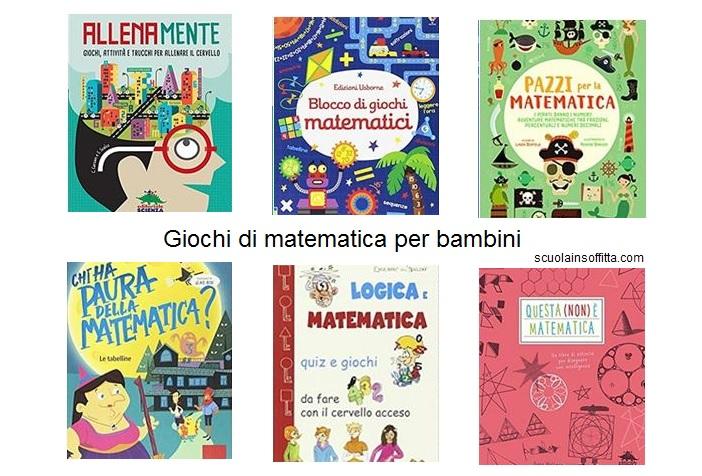 Libri con giochi di matematica per bambini